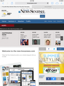 New version of site on July 22, 2014