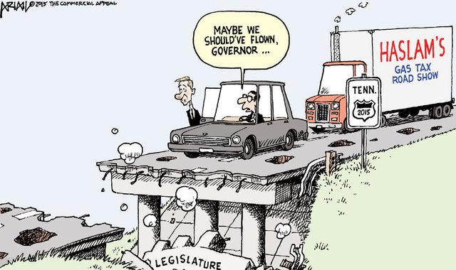 Tenn. legislators seek alternatives to gas tax hike