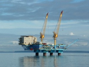 Miller Energy Resources platform in Cook Inlet, Alaska.